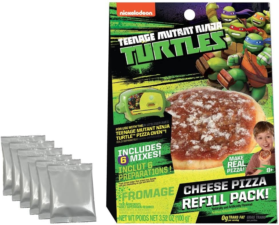 Wicked Cool Toys Teenage Mutant Ninja Turtles Cheese Pizza Refill Pack