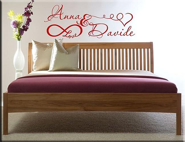 adesivi murali personalizzati con nomi per camera da letto: amazon ... - Adesivi Per Camera Da Letto