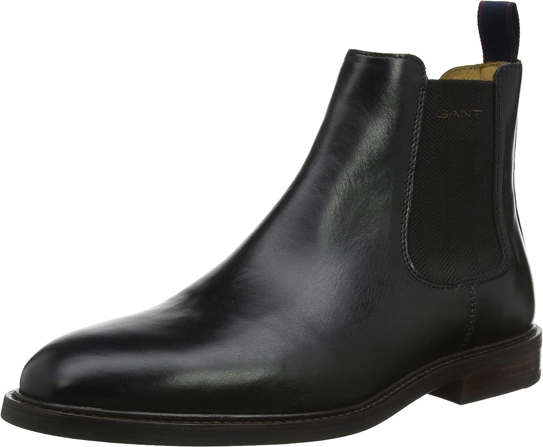 GANT Men's Ricardo Chelsea Boots: Amazon.co.uk: Shoes & Bags