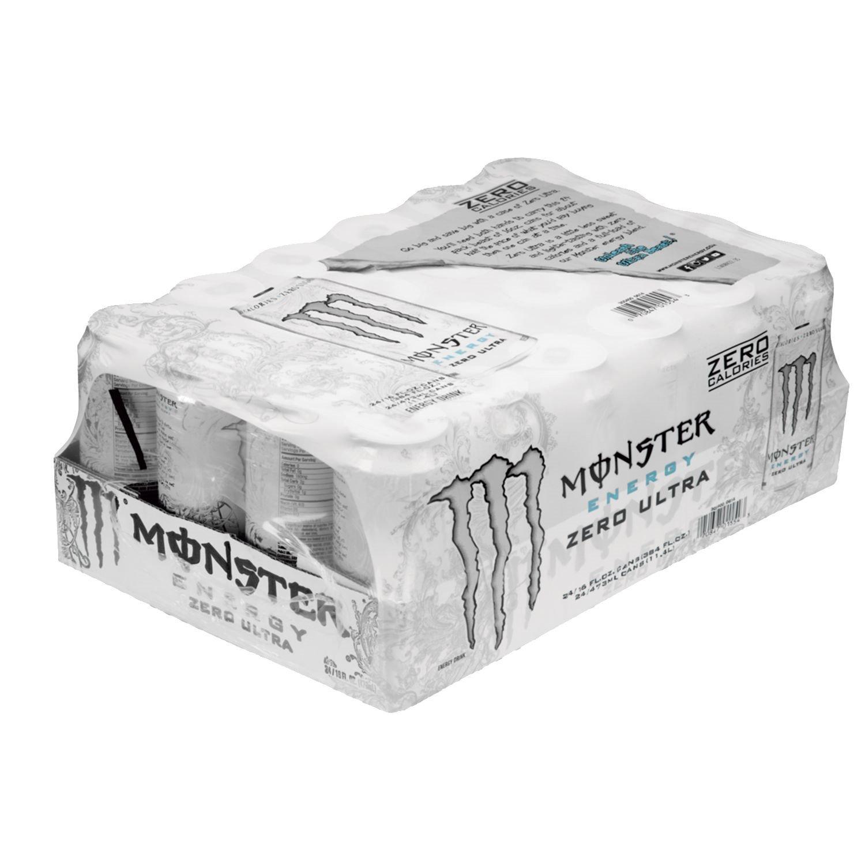 Monster Zero Ultra Energy Drink, 24 Count