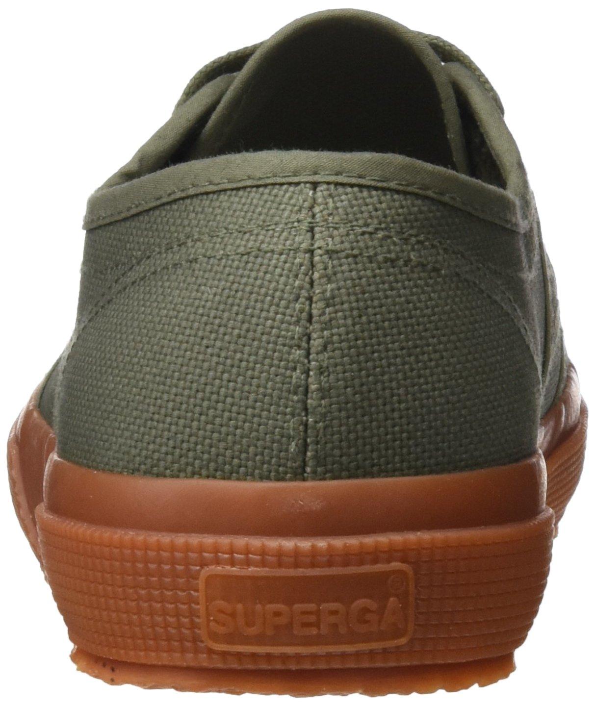 Superga Unisex-Erwachsene 2750 Grün Cotu Classic Niedrig-Top Grün 2750 (Sherwood Gum) ee4cca