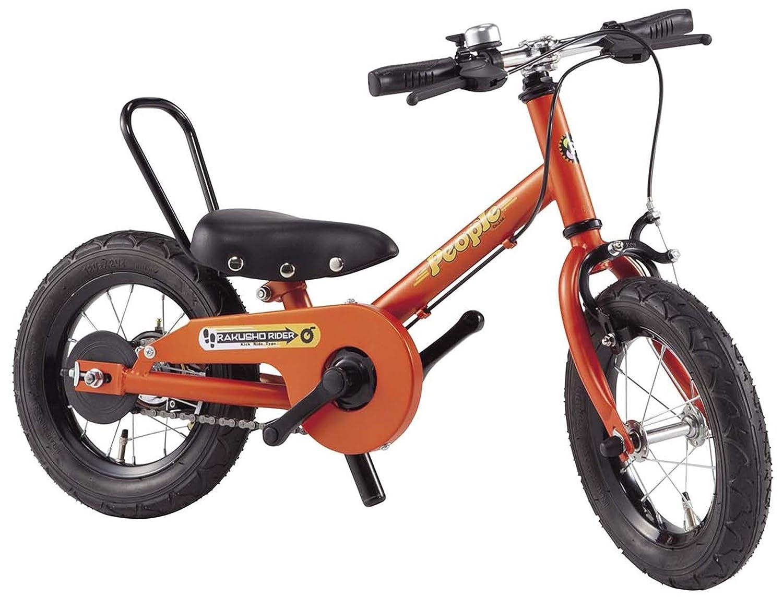 People(ピープル) ラクショーライダー 12インチ マリーゴールド 補助輪パスして自転車イチバン乗り! YGA293 B01N3TTAUY