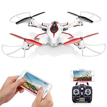 Drone Plegable con cámara Syma X56W FPV WiFi Cuadricoptero UAV RTF ...