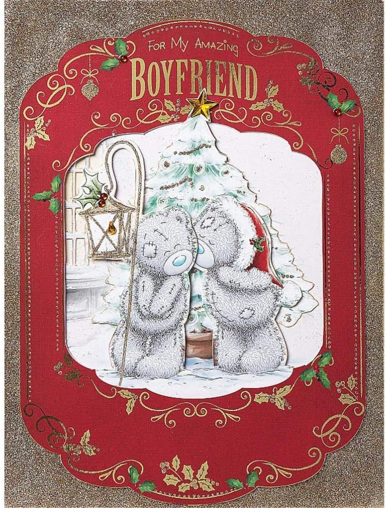 Cards Stationery Boyfriend Me To You Bear Large Luxury Nice Verse Handmade Boxed Christmas Card Home Furniture Diy Tallergrafico Com Uy