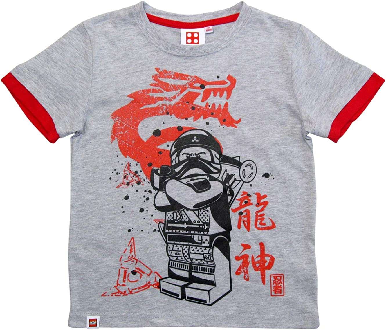 LEGO Ninjago T-Shirt Jungen Gr/üner Ninja Lloyd