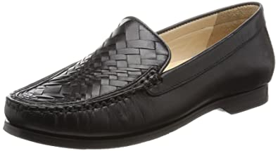 5e148bcd5af Cole Haan Women s Pnch Genevieve Weave Slip-On Loafer Black 6.5 ...