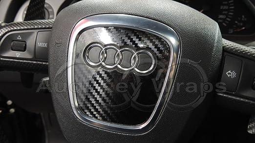 4 opinioni per In fibra di carbonio nero lucido airbag Steering Wheel Wrap S RS
