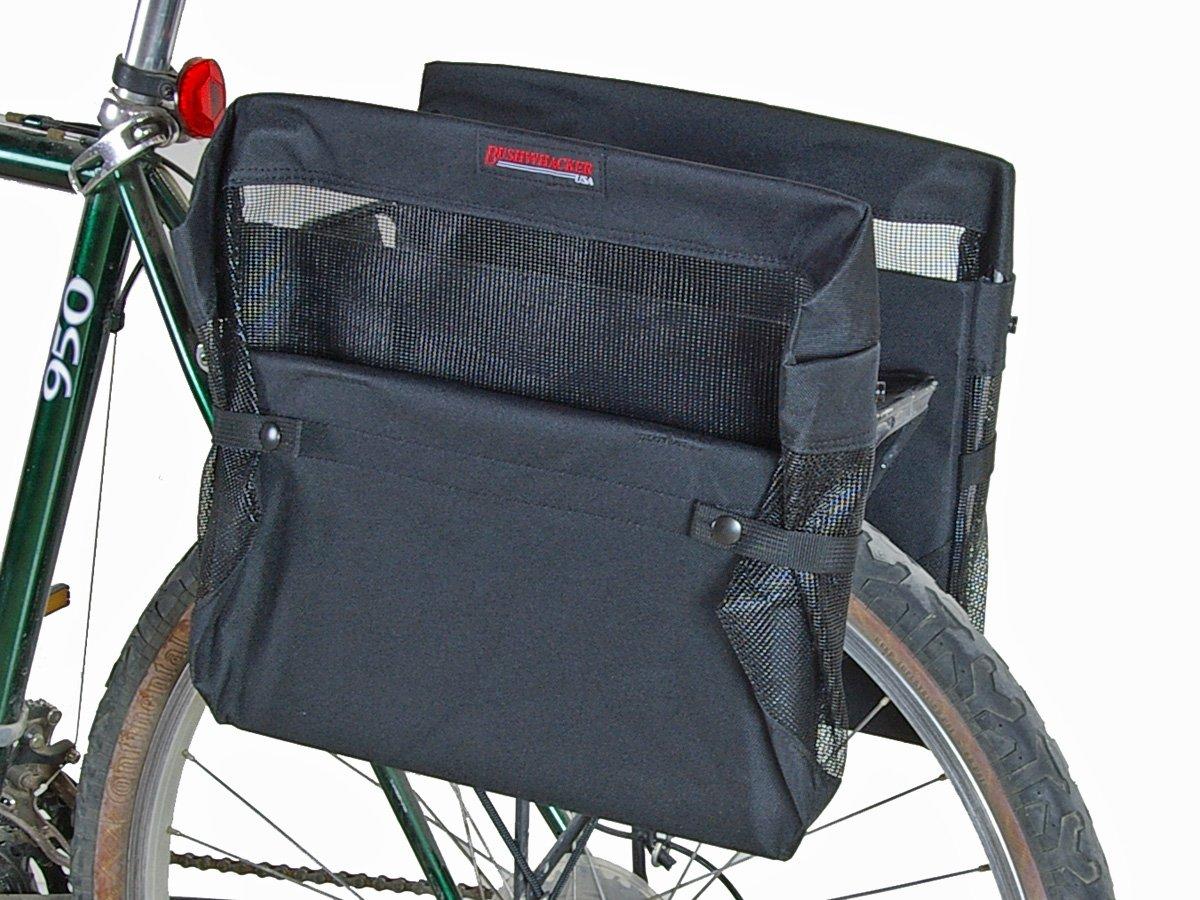 Bushwhacker Omaha - Bicycle Grocery Pannier Cycling Rack Basket Bike Rear Bag Rear Accessories - Sold as Pair by Bushwhacker (Image #2)