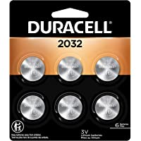 6-Count Duracell CR2032 3V Lithium Coin Batteries