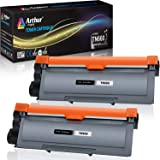 Arthur Imaging Compatible High Yield Toner Cartridge Replacement for Brother TN630 TN660 (Black, 2-Pack)