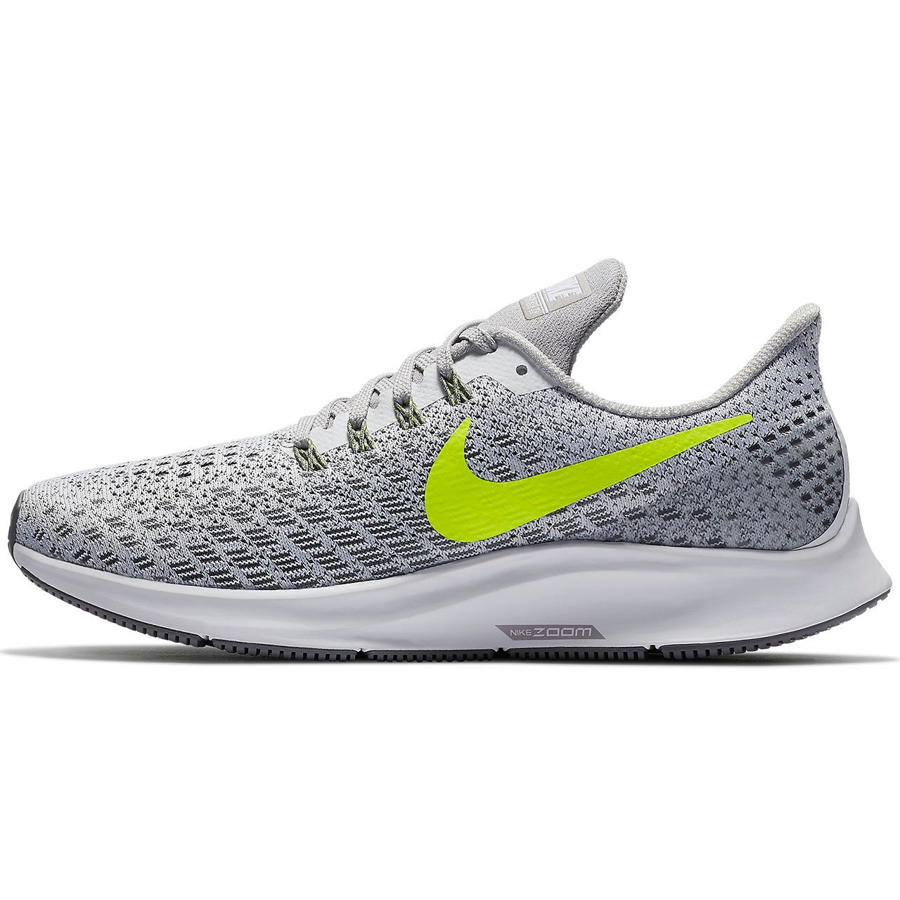 Nike Womens Air Zoom Pegasus 35 Running Shoes B078J7HLR4 11 B(M) US|White/Volt-gunsmoke-atmosphere Grey