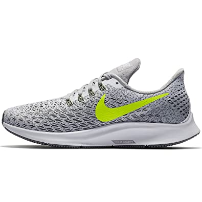 more photos 75f4f 6aa4e Amazon.com   Nike Women s Zoom Pegasus 35 Running Shoe  White Volt Gunsmoke Atmosphere Grey Size 9.5 M US   Road Running