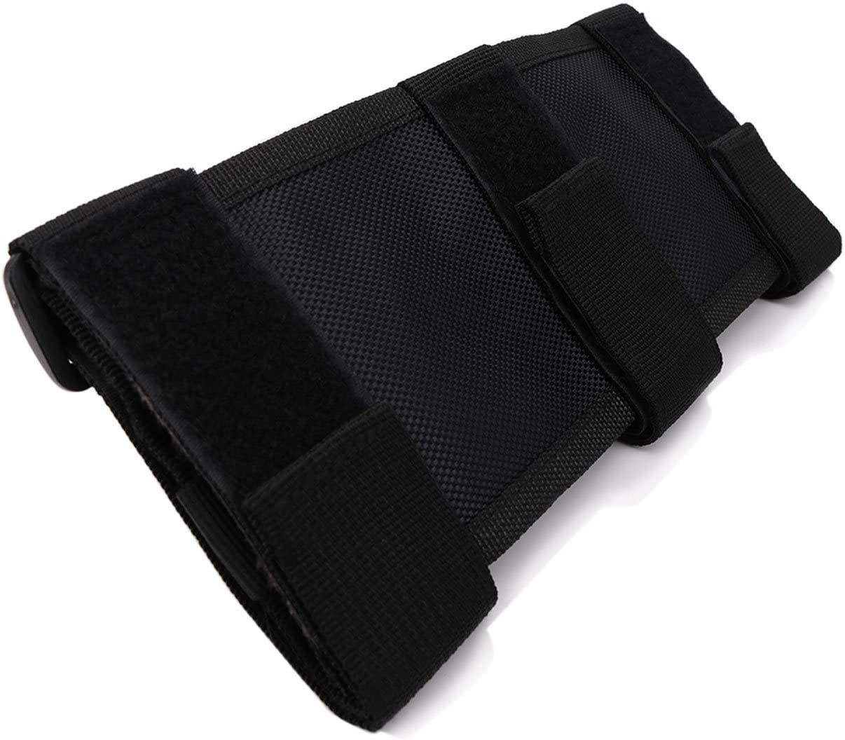 ATV Strap Fits 2 to 3 Inch Bars for Most Jeep Wrangler Models 1986-2020 1 Piece,Black Jade Onlines Paracord Roll Bar Grab Handles Grip Handles Roll Bar Grab Handle Grip Fit for Jeep UTV