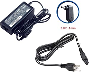 SAIENTEE ACER 19V 2.37A 45W 3.0/1.1mm Small Pin AC Adapter for ACER Aspire One Cloudbook AO1-131 AO1-131 AO1-431 Chromebook 11 C730 Chromebook R 11 C738T Chromebook 13 C810