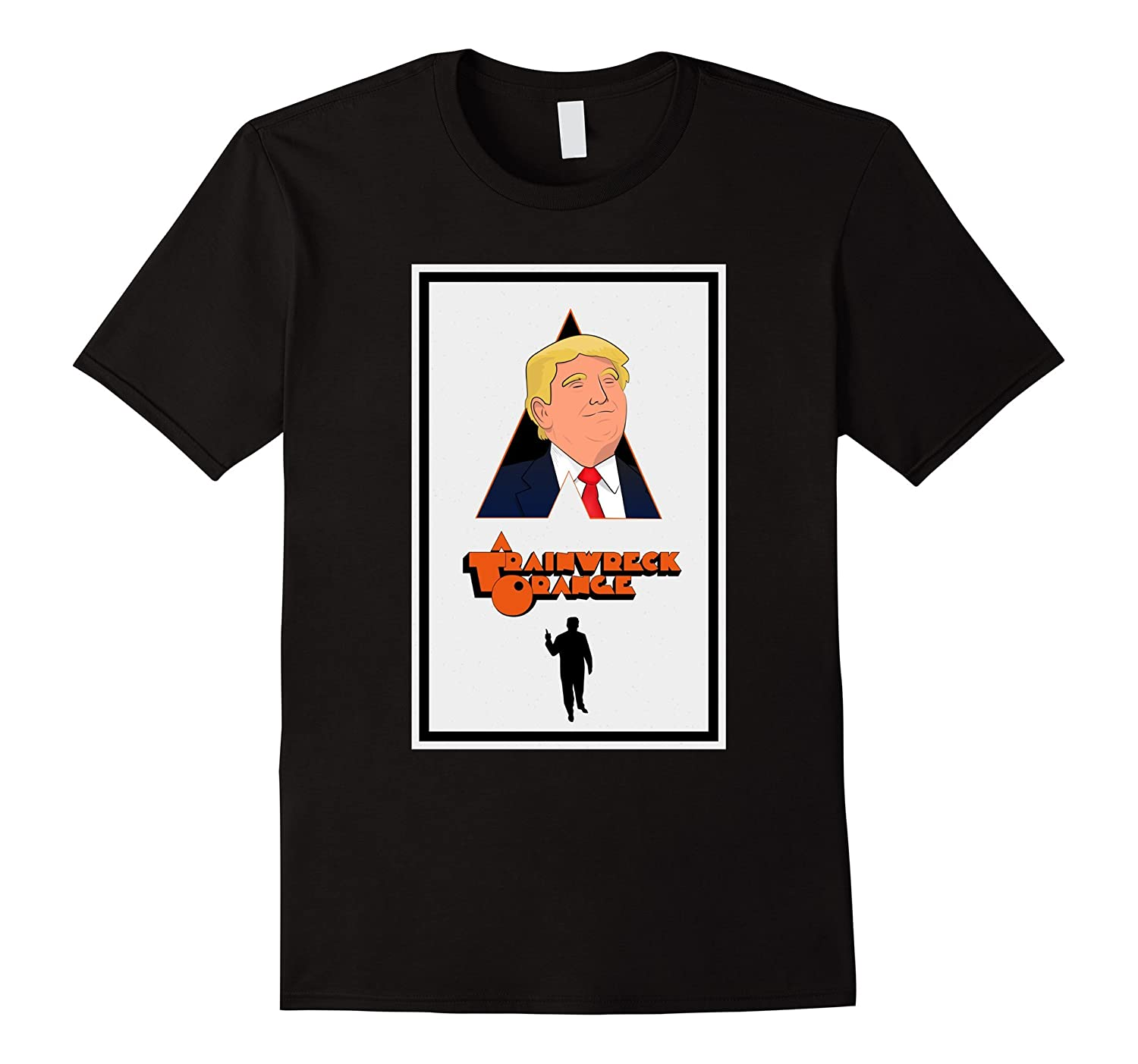 A Trainwreck Orange – Donald Trump T-shirt