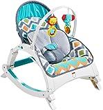 Fisher-Price Newborn-to-Toddler Rocker, Glacier Wave [Amazon Exclusive]