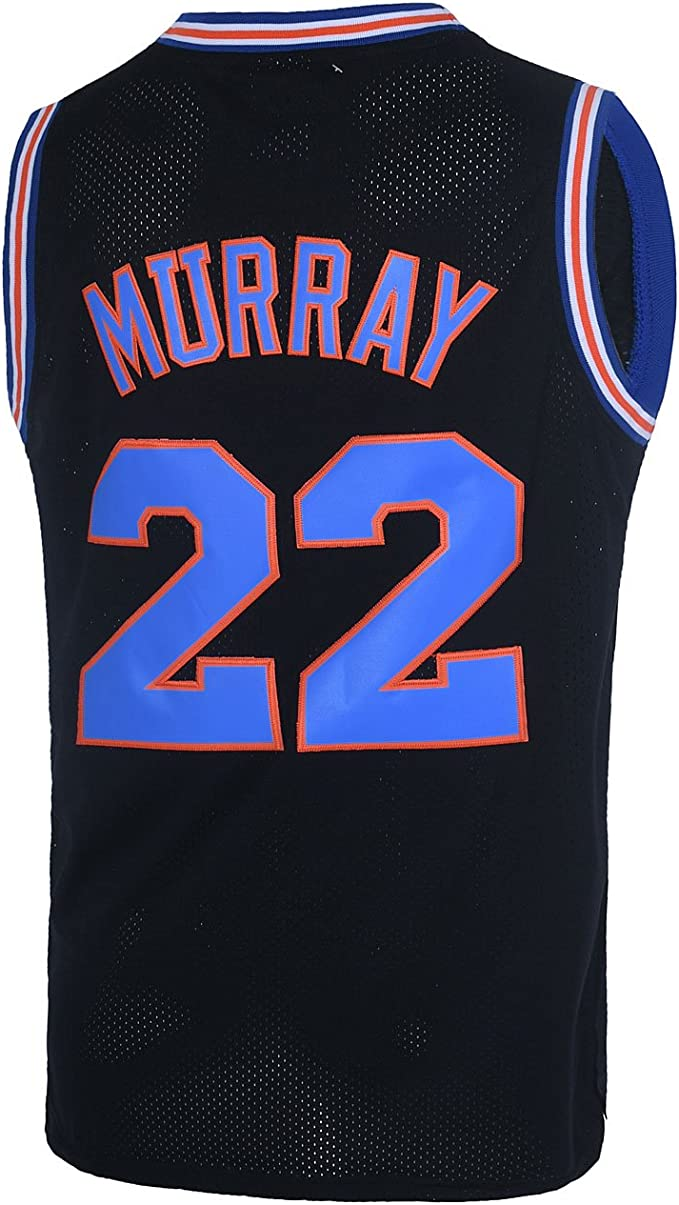 Space Jam Tune Squad #22 Murray Retro Basketball Jersey