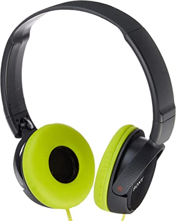 Sony Dynamic closed-type headphones MDR-ZX310 Lime Green//Gray
