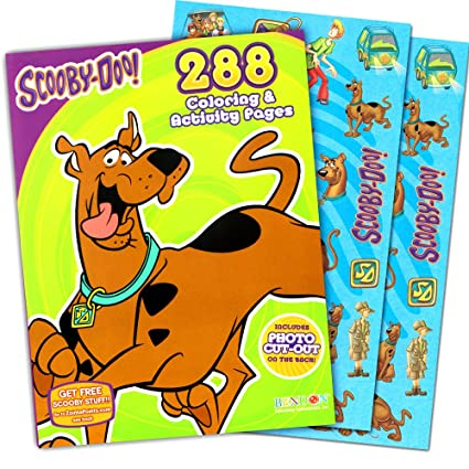 Amazon.com: Scooby-Doo Coloring Book Jumbo 288 Pages with 50 ...