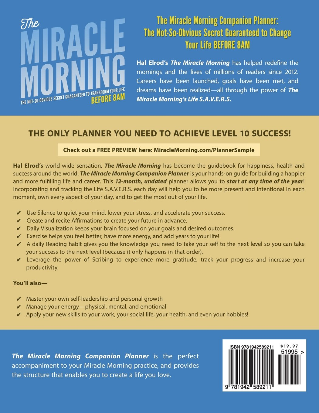The Miracle Morning Journal Pdf