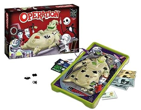 nightmare before christmas operation - Nightmare Before Christmas Board Game