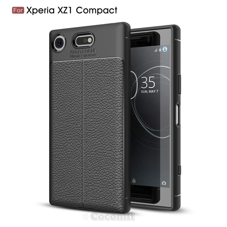 Cocomii Stitch Leather Design Sony Xperia XZ1