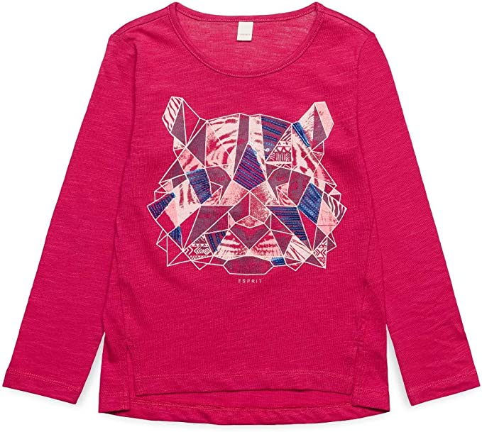 ESPRIT KIDS Girls Long Sleeve Tee-Shirt Longsleeve T