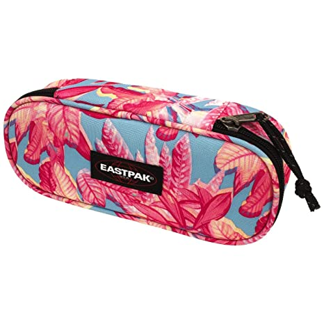 Eastpak Estuche Escolar Ovalado Color Pink Jungle: Amazon.es ...