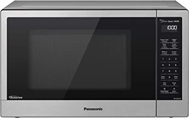 Panasonic Compact Microwave Oven with 1200 Watts of Cooking Power, Sensor Cooking, Popcorn Button, Quick 30sec and Turbo Defrost - NN-SN67KS - 1.2 cu. ...