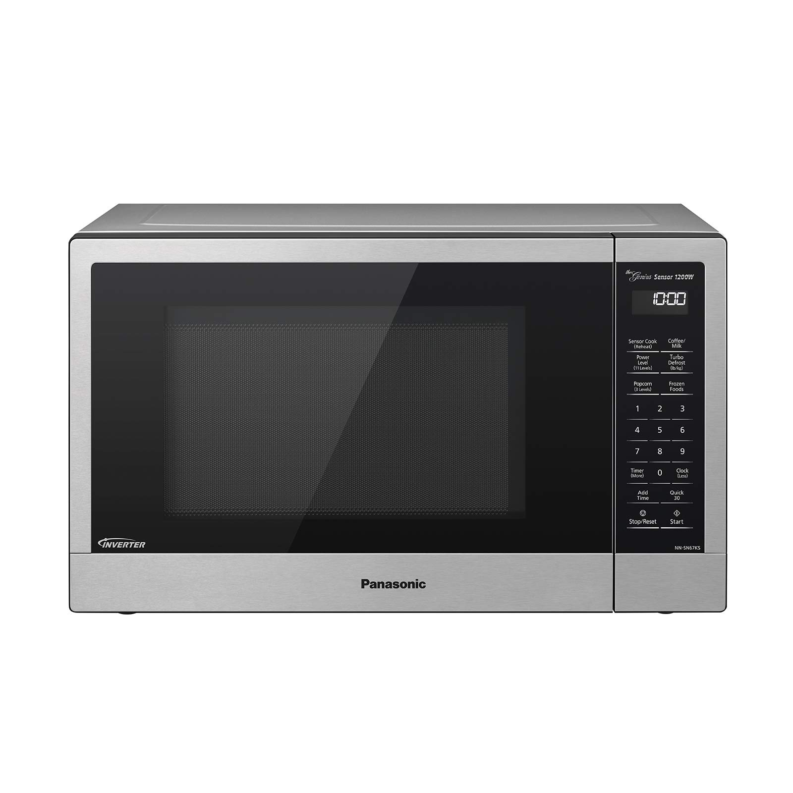 Panasonic Silver 1 2 Cu Ft Microwave Oven: Best Rated In Countertop Microwave Ovens & Helpful