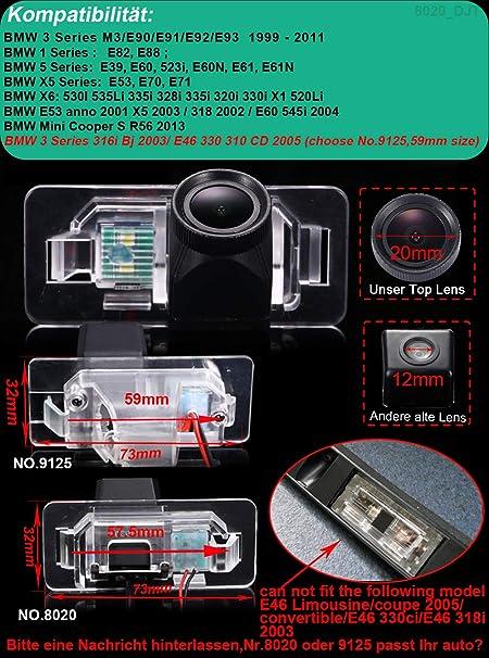 Kalakus Hd Ccd Auto Rückfahrkamera Kennzeichenleuchte Elektronik