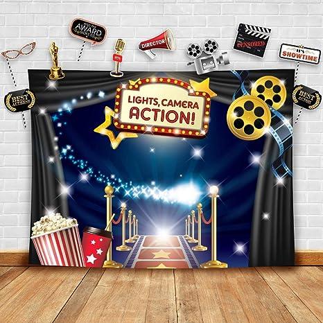 Hollywood - Kit de fotografía temática de película y ...