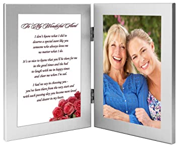 aunt gift present for a favorite aunt double frame with poem add photo