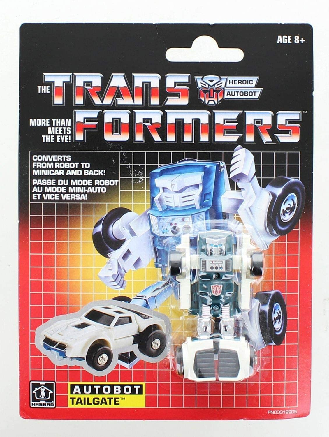 NEW Transformers G1 Autobot Tailgate 2018 Reissue NEW in package