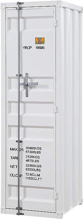 ACME Cargo Wardrobe (Single Door) - - White