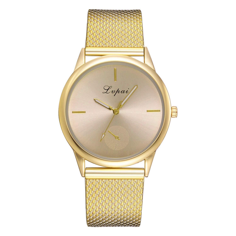 Modaworld Relojes de Moda,Relojes Mujer Elegante Reloj de Pulsera analógico Reloj Casual de Cuarzo de Silicona para Mujer: Amazon.es: Relojes