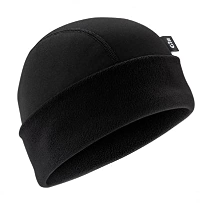 62892b98 Amazon.com: GILL i3 Beanie Hat - Black - One Size: Sports & Outdoors