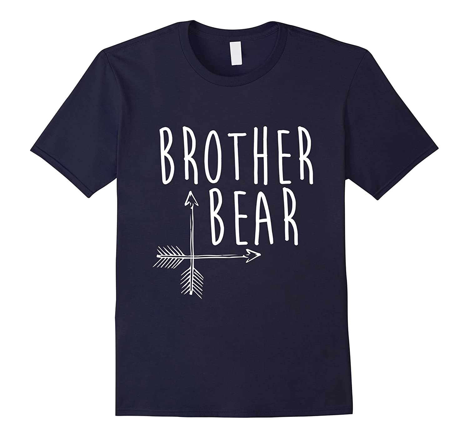 Brother Bear T-Shirt Fun Family Portrait Mama and Papa Bear-TH