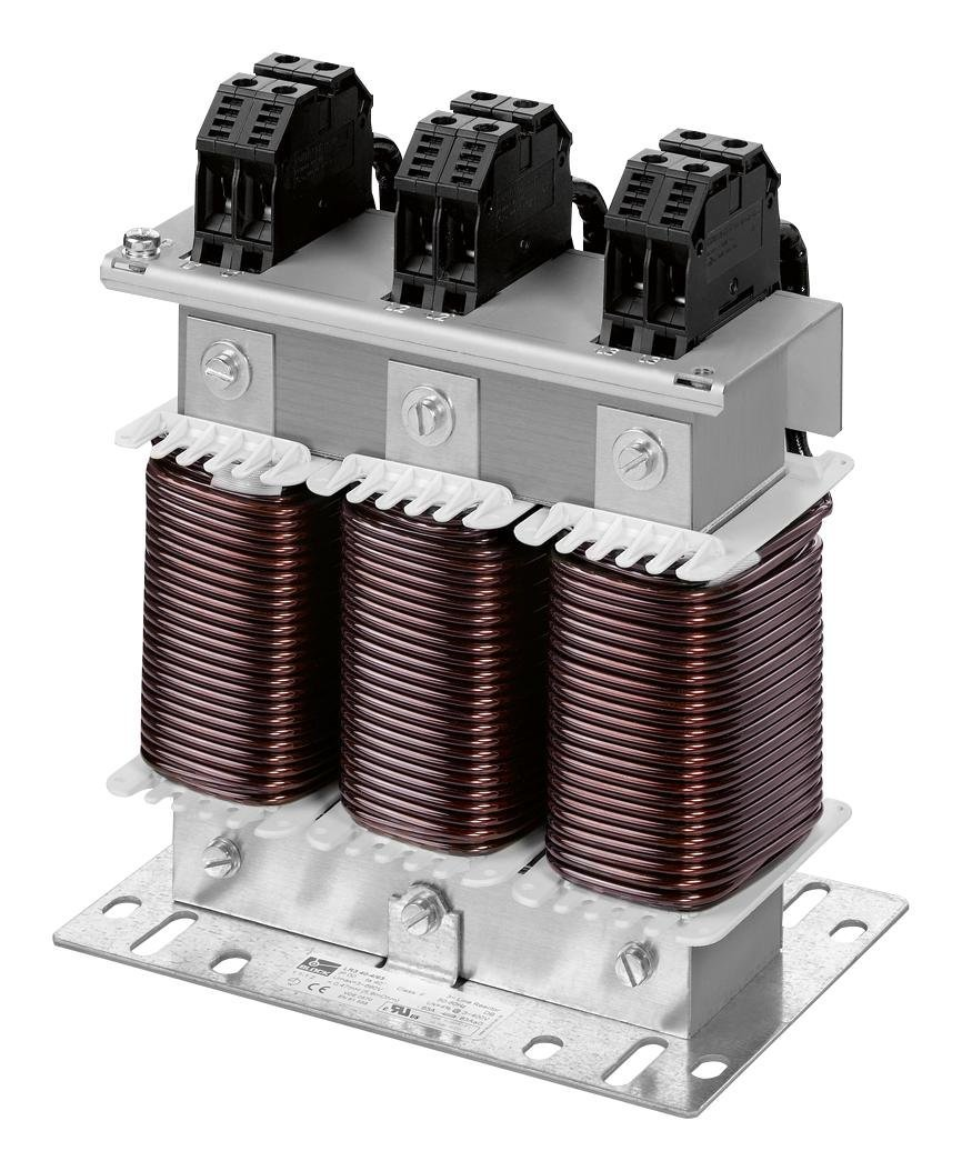 BLOCK LR3 48-3/35 Reactor, LR3 Series, 480 VAC, 3 Phase, 35 A