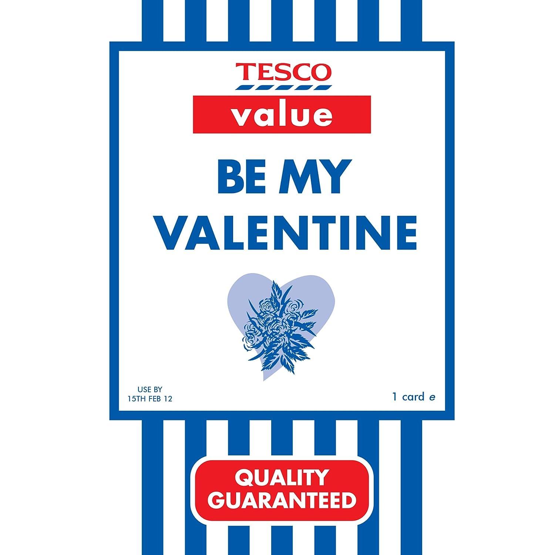 Valentines Card Humour Tesco Value Amazon Co Uk Kitchen Home