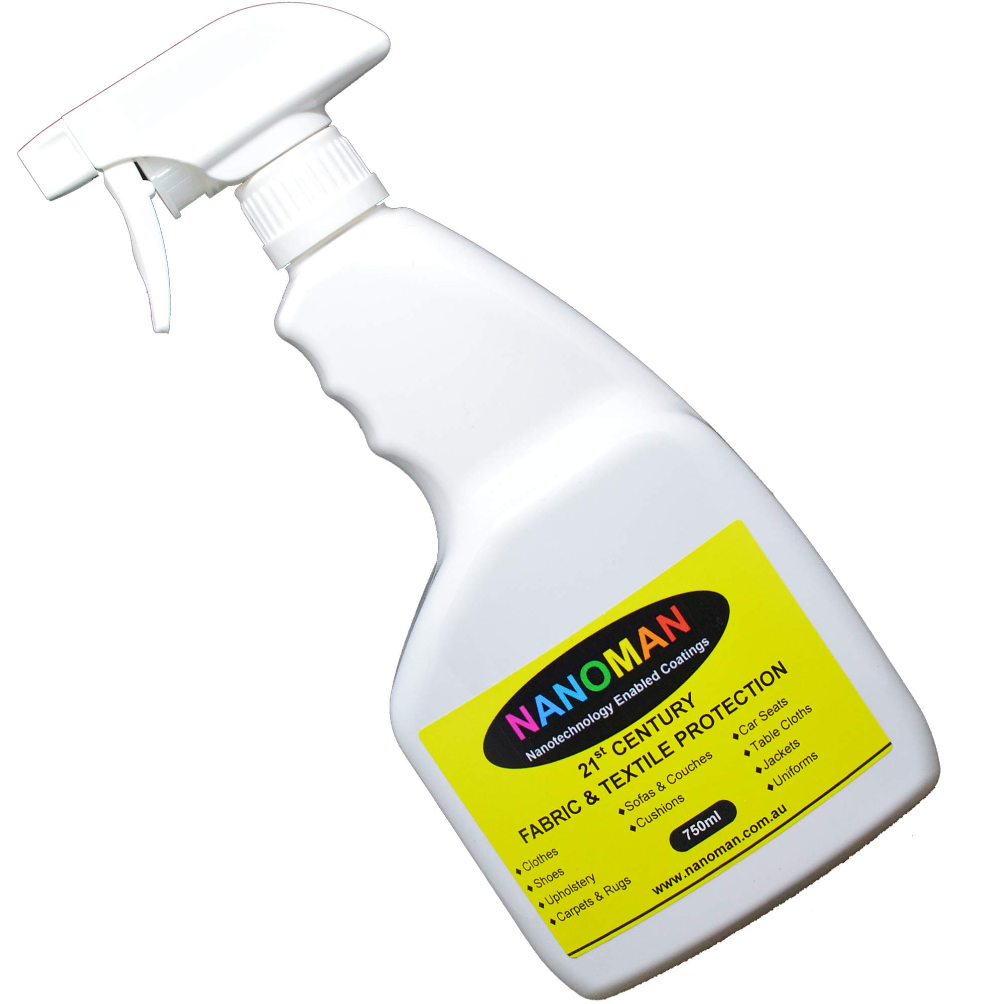 Latest Nano-Technology Fabric, Carpet, Upholstery Spray Protector Guard (25.4 ounce). Home, Car and Boat. Water and Stain Repellent Protection Coating.