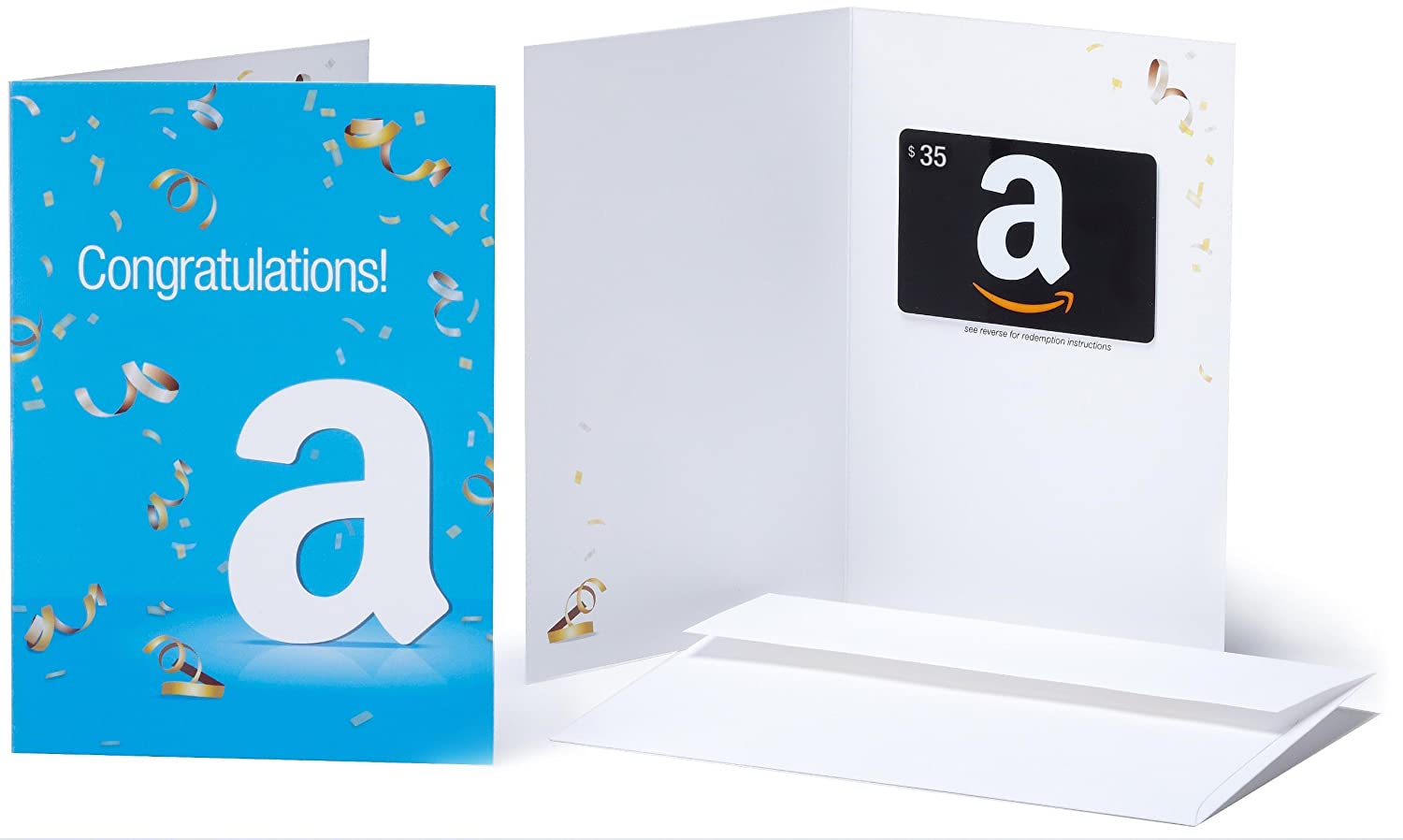 Amazon 35 Gift Card In A Greeting Congratulations Design Cards