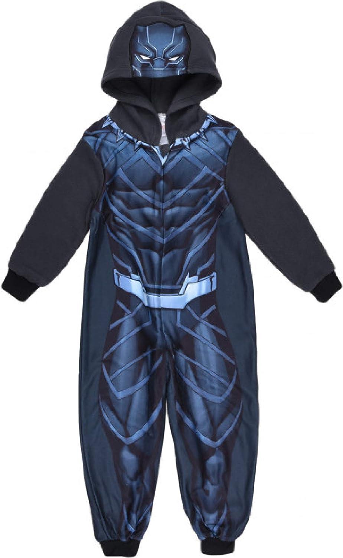 CapitanAmerica Chándal Pijama y Black Panther Med. 4 6 8 10 años ...