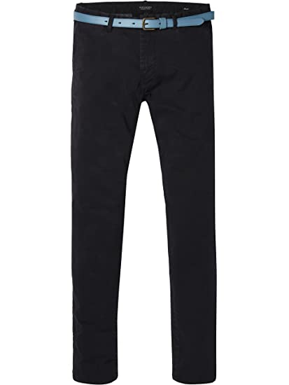 Mens Chino Classique Écossais Pantalon Qualité Sergé Extensible Et Soda 5687Rm