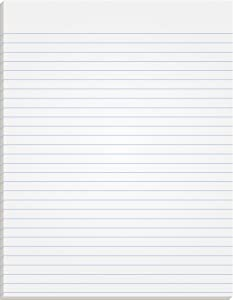 """TOPS The Legal Pad Writing Pads, Glue Top, 8-1/2"""" x 11"""", Narrow Rule, 50 Sheets, 12 Pack (7529)"""
