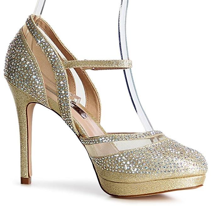 topschuhe24 Zapatos de vestir para mujer, color Negro, talla 41 UE