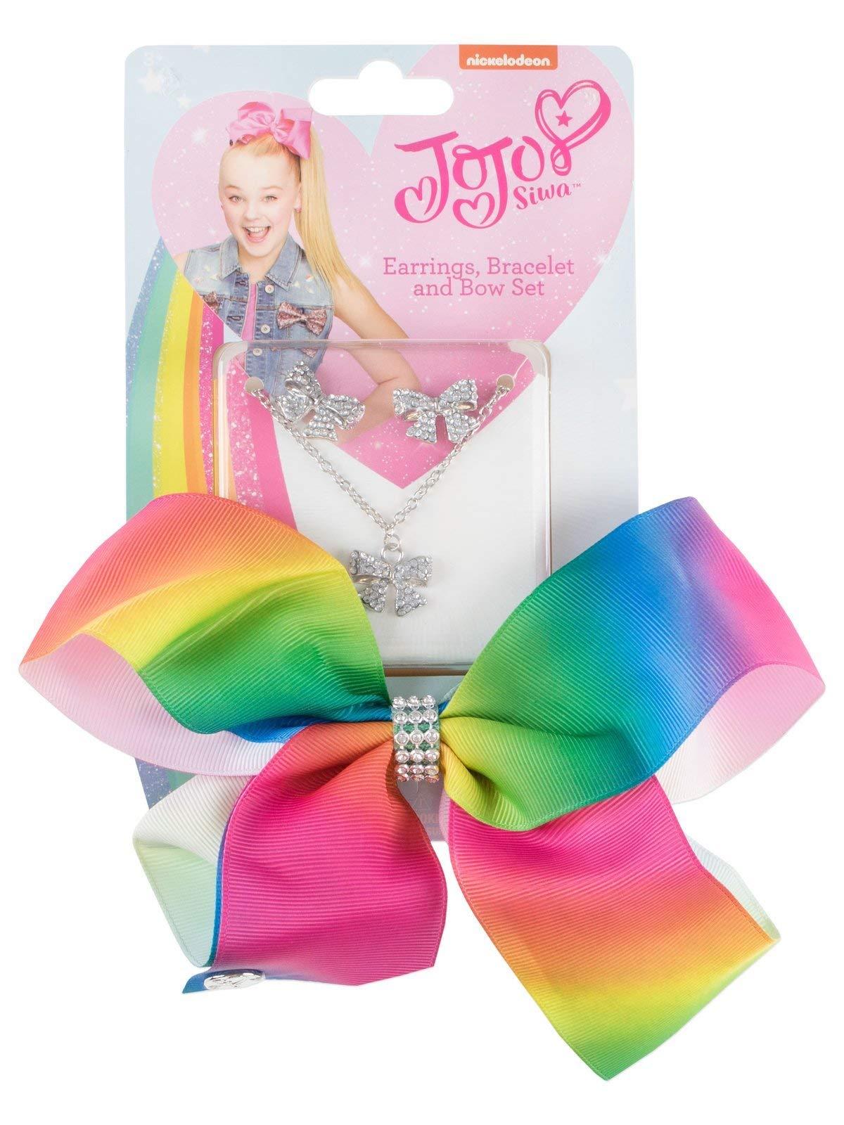 Nickelodeon JoJo Siwa Dreaming of Unicorns Purse W/Removable Plush Unicorn & JoJo Rainbow Hair Bow - Multi Value Bundle by By JoJo Siwa (Image #4)