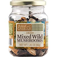 Roland Foods Premium Dried Porcini Mushrooms, Specialty Imported Food, 1.41-Ounce Jar