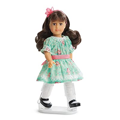 "American Girl Samantha Parkington 2016 Special Edition 6.5"" Mini Doll and Book: Toys & Games"