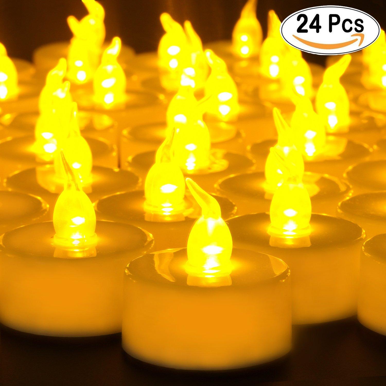 Velas y candelabros Amazon